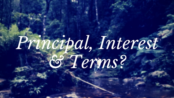 Principal, Interest & Terms?